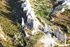 Free Arial View Of Limestone Formation Royalty Free Stock Photo - 20446835