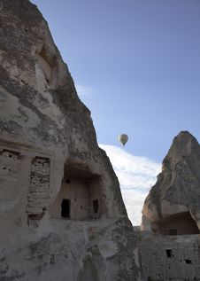Free Typical Limestone Homes Cappadocia Turkey Stock Photography - 20447042