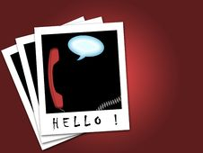 Free Hello In Bubble Stock Image - 20447601