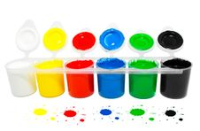 Free Water Based Paints Stock Photography - 20448132