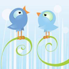 Free Two Loving Birds Stock Photos - 20448583
