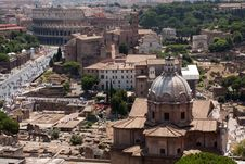 Free Rome View From Vittoriano Stock Photo - 20449760