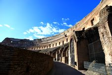 Free Interior Rome Colosseum Royalty Free Stock Image - 20449826