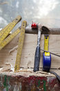 Free Carpenter Tool Stock Image - 20455951