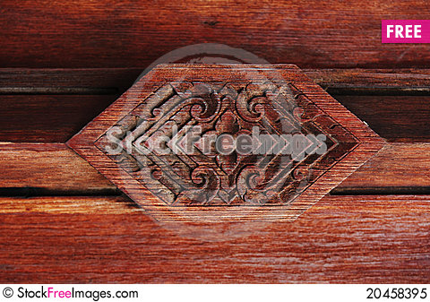 Free Wood Carving Royalty Free Stock Photo - 20458395