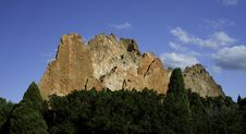 Free Large Red Rocks In Garden Of The Gods Royalty Free Stock Photos - 20451518
