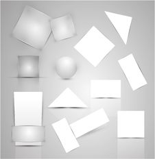 Free Paper Business Promotional Elements Stock Image - 20451841