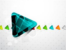 Free Vector Triangle Background Stock Photos - 20452103