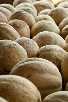 Cantaloupes Royalty Free Stock Images