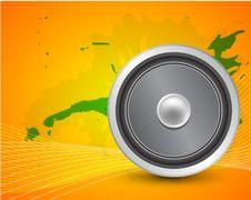 Free Loudspeacker Background Royalty Free Stock Photo - 20452585