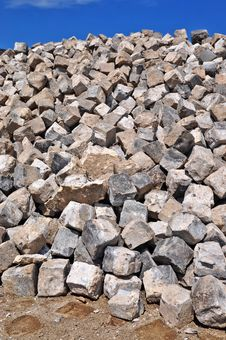 Free Granite Cobblestones Royalty Free Stock Photo - 20453385