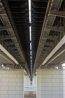 Free Huge Iron Bridge Stock Photography - 20453462