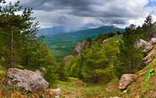 Free Summer Landscape In The Mountains Royalty Free Stock Images - 20453649