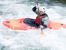 Free Kayaker Royalty Free Stock Image - 20454246
