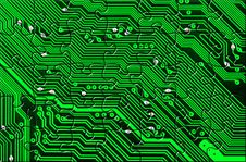Free Computer Board Made Of Puzzle Royalty Free Stock Images - 20454529
