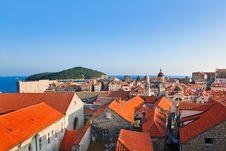 Free Town Dubrovnik In Croatia Stock Image - 20454541
