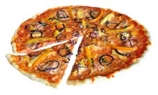 Free Pizza Royalty Free Stock Photography - 20455007