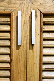 Free Wooden Doors. Stock Photography - 20455462