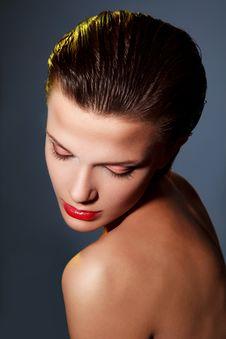 Free Beautiful Woman With Makeup Stock Photo - 20455480