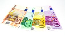 Free Euro Banknotes Royalty Free Stock Image - 20455826