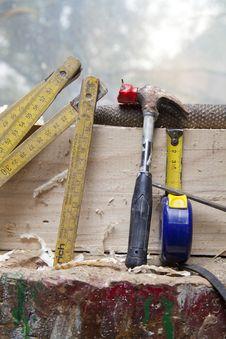 Free Carpenter Tool Stock Image - 20455951