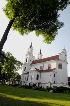 Free Vilnius Calvary Church Stock Image - 20456001