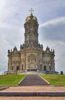 Free Blessed Virgin Mary Church In Dubrovitsy. Stock Photo - 20456470