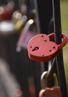 Free Locks On The Bridge Stock Photos - 20456503