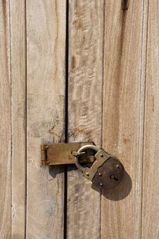 Free Old Key Vintage Lock Door Wood Royalty Free Stock Photo - 20456515