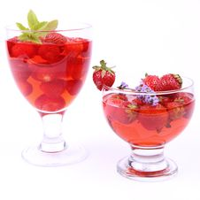 Free Strawberry Jelly Stock Image - 20456661