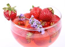 Free Strawberry Jelly Royalty Free Stock Images - 20456689