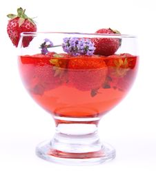 Free Strawberry Jelly Stock Photography - 20456692