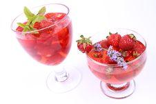 Free Strawberry Jellies Royalty Free Stock Photos - 20456928