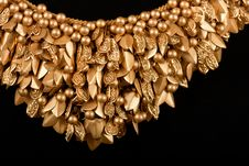 Free Close-up Of Gold Necklace Stock Photography - 20456992