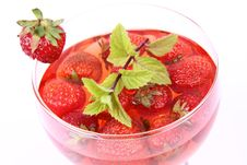 Free Strawberry Jelly Royalty Free Stock Photography - 20457117
