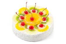 Free Fruit Cake Royalty Free Stock Photos - 20457178