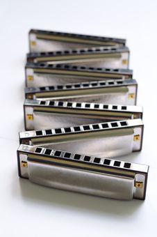 Free Zigzag Harmonica Set Stock Photo - 20457260