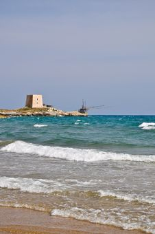 Free Bay Of Manacore, Apulia, Italy Stock Image - 20457741