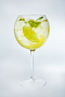 Fresh Summer Cocktail Stock Photography