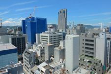 Free Hiroshima Skyline Royalty Free Stock Photography - 20458977