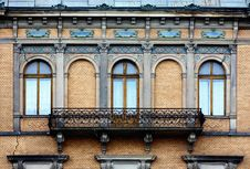 Free Old Long Balcony Stock Images - 20459074