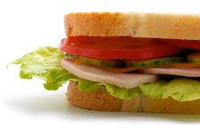 Free Part Of The Sandwich (horizontal) Stock Image - 20459891