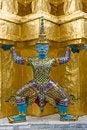 Free Wat Phra Kaew : The Royal Temple Of Bangkok Royalty Free Stock Images - 20461939