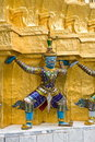 Free Giant Statues, At The Wat Pha Kaew Temple Stock Image - 20461971