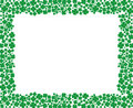 Free Clover Frame With Empty Space For Your Text Royalty Free Stock Images - 20469009