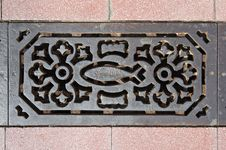 Free Sewer Grate Stock Photo - 20460180