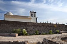 Church, Castro Marim Stock Image