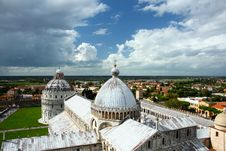 Free Leaning Tower Of Pisa Cathedral Stock Photo - 20461000