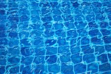 Free Swiming Pool Water Pattern Background Royalty Free Stock Photos - 20461448