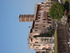 Temple Of Venus And Roma, Rome, Italy Stock Photography